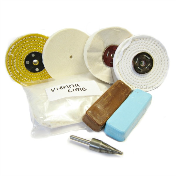 Aluminium Polishing kit